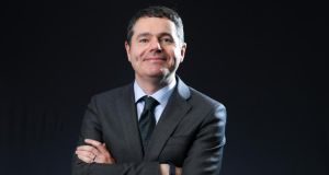 "Paschal Donohoe: the ""magical mediocrity of sustained average rates of growth"" is what enables countries to plan for the future, the Minister for Finance says. Photograph: Chris Ratcliffe/Bloomberg"