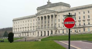 The British and Irish governments are presenting Stormont talks and BIIGC meetings as competing rather than complementary approaches. Photograph: Paul Faith/AFP/Getty Images