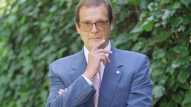 Actor Roger Moore, who died in April. Photograph: Chris Pizzello/AP