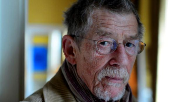 Actor John Hurt, who died in January. Photograph: Cyril Byrne
