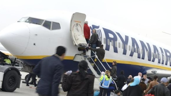 Ryanair reduced the amount of hand luggage that you can bring onto a plane.