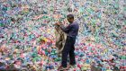Up to 97% of Irish plastic, including plastic bottles, went to China because of a lack of processing capacity at home.
