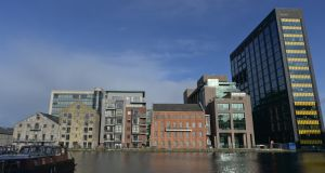Grand Canal Dock, Dublin: The global economic cycle in general and the Irish economic system in particular are being profoundly affected by structural changes brought about by technological innovations. Photograph:  NurPhoto/Getty