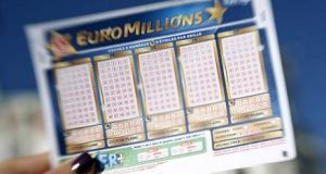 The National Lottery has appealed to  players, especially those in Co Meath, to check their tickets with only hours left to claim a prize won in the EuroMillions Plus draw on Tuesday, September 26th last. File photograph: Getty Images