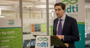 Minister for Health Simon Harris said he did not rule out permitting doctors to work in privately-owned facilities despite Sláintecare calling for a separation of private practice and public hospitals. Photograph: Brenda Fitzsimons/The Irish Times