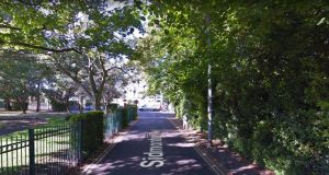 Part of Sidmonton Park and the surrounding roads were closed off by Gardaí. Photograph: Google Maps