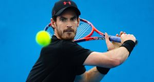 Andy Murray has admitted he may never be able to get back to his best level. Photograph: Patrick Hamilton/AFP