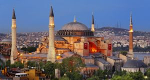 The Hagia Sophia. As a museum that attracts millions of tourists, it is worth tens of millions of dollars to local authorities every year. Photograph: Getty Images