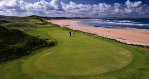 Doonbeg Golf Resort in Co Clare: accounts show that €3.1m was ploughed into the resort firm in 2016 by the Trump organisation