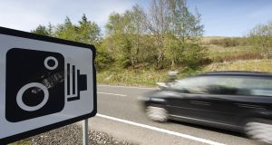 Speeding attracts the most penalty points of any road traffic offence, with 549,574 points issued in 2016. Photograph: Getty Images