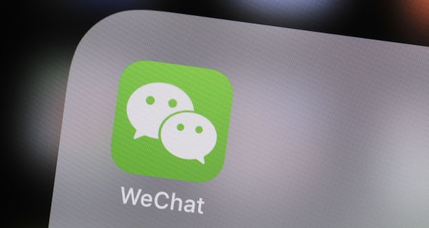 Chinas wechat denies messaging service is storing user chats tencent holdings wechat messaging application has denied it is storing chat histories photograph justin reheart Images