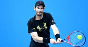 Andy Murray has withdrawn from the Brisbane International due to a hip injury. Photograph: Bradley Kanaris/Getty