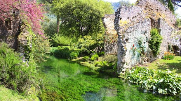 Garden of Ninfa, Latina, near Rome