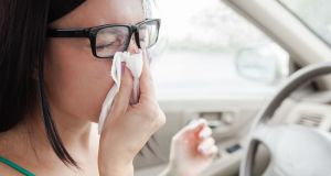 Motorists who suffer from sneezing fits are particularly at risk, according to Mayo Road Safety Officer Noel Gibbons. Photograph: iStock