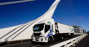 Up to €20,000 is available to Irish businesses through Ervia towards the purchase of a new natural gas vehicle. Photograph: Fennell