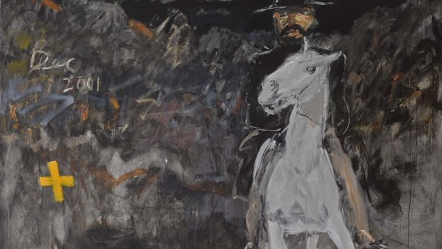 Basil Blackshaw, Night Rider (from the Eamonn Mallie collection) sold for €90,000