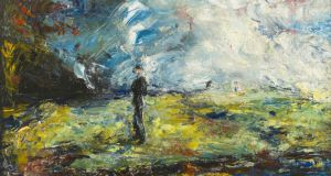 Jack B Yeats's 1947 painting The Night Has Gone  sold for €255,000, the top price of the year at De Veres