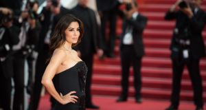 Eva Longoria at the Cannes Film Festival is among those asking women to walk the red carpet in black clothes in protest at Hollywood sexual harassment.  Photograph: Samir Hussein/WireImage