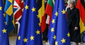 Britain's prime minister Theresa May:  how will the EU act when it comes to securing a trade deal with a country that is still the fifth largest economy in the world? Photograph: EPA
