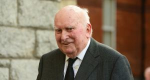 Former Supreme Court justice Donal Barrington who has died aged 89. Photograph: Cyril Byrne