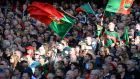 Mayo have endured so many painful defeats but their supporters remain loyal and their ability to keep smiling still impresses me. Photograph: Dara Mac Dónaill