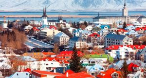 Iceland ranks fifth in the world for wage equality, according to a World Economic Forum report. Photograph: Getty