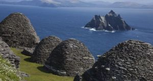 Skellig Michael, Co Kerry is a Unesco world heritage site.