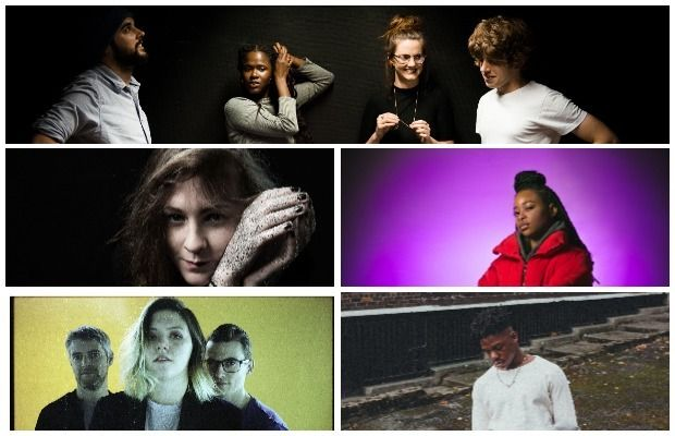Music (clockwise from main pic): Shookrah, Soulé, Jafaris, Bitch Falcon and Katie Laffan.