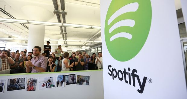 According to reports, music streaming platform Spotify has filed for its IPO, aiming to make its stock available as a direct listing in the first half of 2018. Photograph: Mario Tama/Getty Images-Business News and Updates