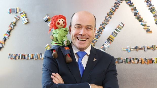 The Minister for Communications Denis Naughten is responsible for RTÉ and the orchestras. Photograph: Julien Behal