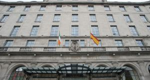 The Gresham Hotel gave 'good notice' of change in policy, Dublin City Council said. Photograph: Dave Meehan