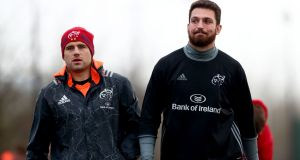CJ Stander and Jean Kleyn start for Munster against Connacht on Saturday night. Photograph: James Crombie/Inpho