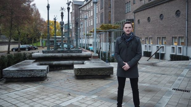Tom Finn from Co Kildare, a second-year international business student at Maastricht University, found it difficult to adjust to college life in the Netherlands during his first few months abroad