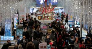 The US retail sector shed 20,000 jobs last month during the crucial Christmas season. Photograph: Reuters