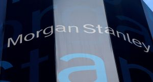 Morgan Stanley is the latest in a line of major US banks to detail an expected near-term tax hit. Photograph: Reuters