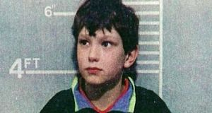 Undated police handout photo of Jon Venables, one of the killers of toddler James Bulger. File photograph: PA Wire