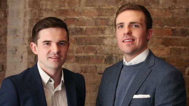 "CitySwifter co-founders Alan Farrelly and Brian O'Rourke. ""Our original idea worked to a certain extent but it was going to be hard to break even,"" says O'Rourke."