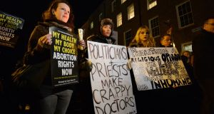 'The Government will hold a referendum on the removal of the Eighth Amendment from the Constitution in May or June. This will be a historic opportunity for all of us in Ireland to ensure the way forward for comprehensive healthcare services for all women and girls, including abortion.' Photograph: Alan Betson/The Irish Times.