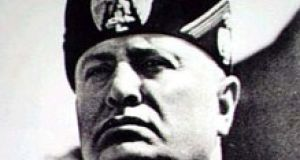 Dedicated Irish ascetics appreciated Benito Mussolini's campaign  against suggestive fashions