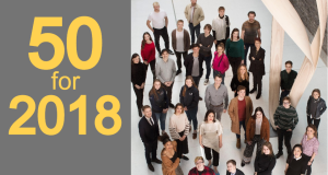 The top 50 people to watch in 2018. Photograph: Alan Betson