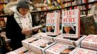 Copies of  'Fire and Fury: Inside the Trump White House' by  Michael Wolff  at the Book Culture bookstore in New York on Friday. Photograph: Shannon Stapleton/Reuters