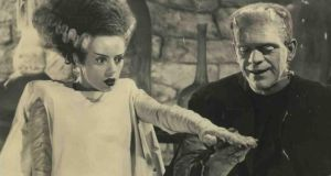 Elsa Lanchester and Boris Karloff in The Bride of Frankenstein