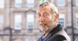 Michael Rosen: the children's poet grew up dreaming of world revolution. Photograph: Roberto Ricciuti/Getty