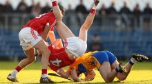 Clare beat Cork on Sunday to set up a Munster Hurling League final against Limerick. Photograph: Inpho