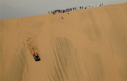 Dakar Rally 2018 Peru-Bolivia-Argentina: The 40th Dakar Edition First stage from Lima to Pisco, Peru. Photograph: Reuters