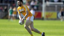 Conor Murray scored 2-3 in Antrim's win over Cavan on Sunday. Photograph: Inpho