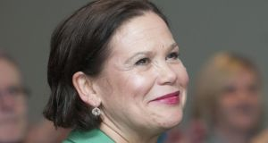 Mary Lou McDonald: Sinn Féin's deputy leader is the only person so far to have confirmed an interest in succeeding Gerry Adams. Photograph: Dave Meehan