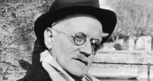 James Joyce: the Ulysses author in Zurich in 1938. Photograph: Carola Giedion-Welcker/courtesy Zurich James Joyce Foundation