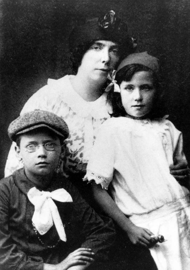 James Joyce: the writer's wife, Nora Barnacle, and their children, Giorgio and Lucia. Photograph: Marka/UIG via Getty