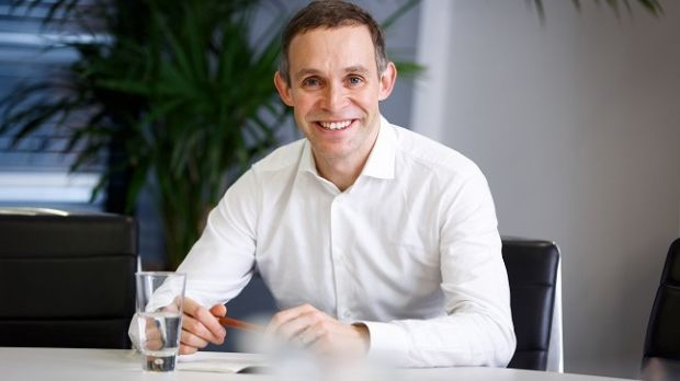 First day as Paddy Power Betfair CEO for Peter Jackson